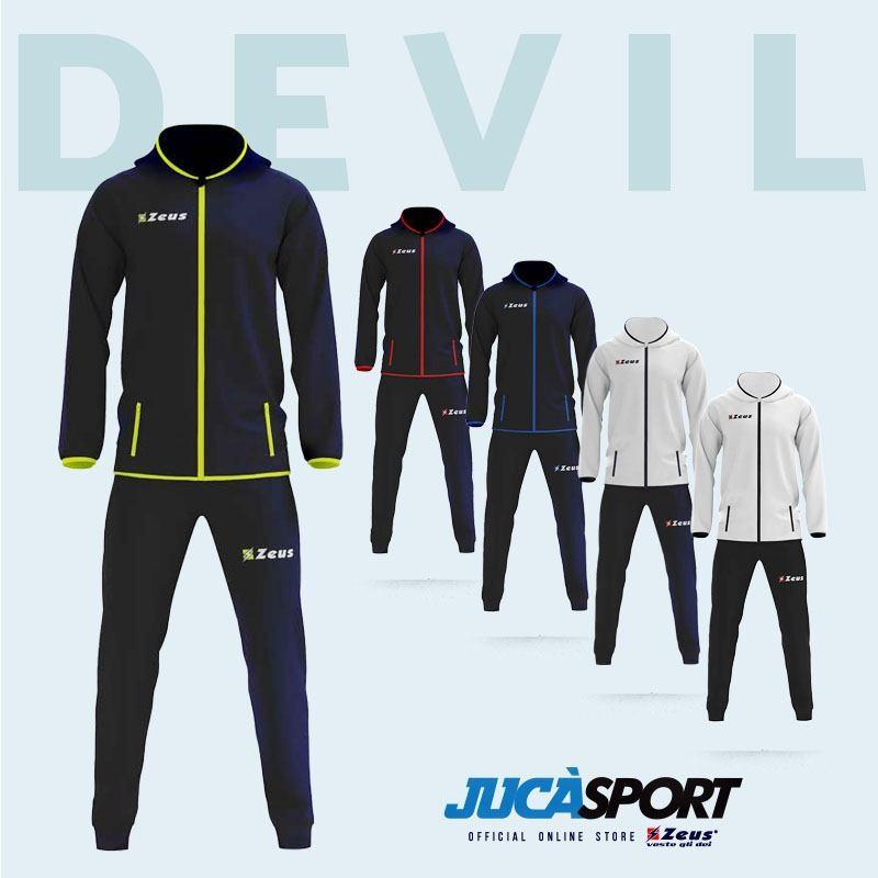 Tuta Devil Zeus Microfibra Colori Disponibili