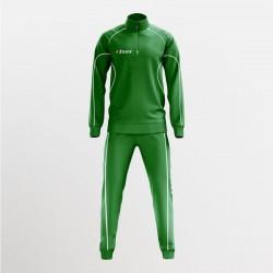Zeus Sport Tuta Mezza Zip Krono Verde