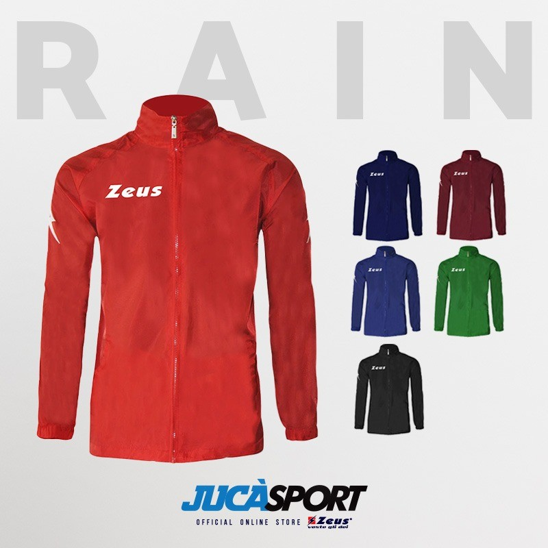 Giacca Pioggia Kway Rain Zeus Colori Standard