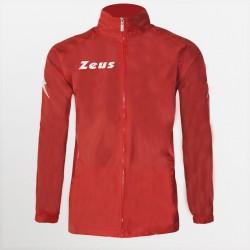 Giacca Pioggia Kway Rain Zeus Rosso