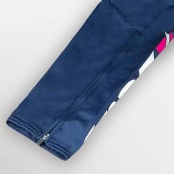 Tuta Training Ulysse Fucsia Donna dettaglio lampo  gamba pantalone