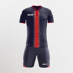 Kit Calcio Zeus Sport 2021 Perseo Blu/Rosso