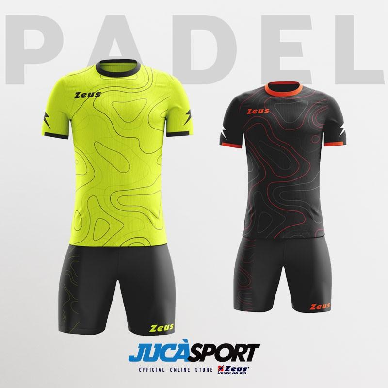 Kit Padel con tasche Zeus Sport Colori Disponibili