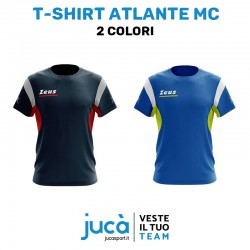 Zeus Sport T-shirt Atlante MC Colori