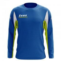 Zeus Sport T-Shirt Atlante Manica Lunga Royal