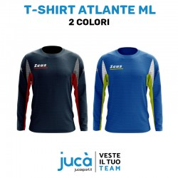 Zeus Sport T-Shirt Atlante Manica Lunga Colori