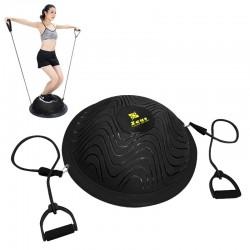 Zeus Sport Bosu Ball con elastici