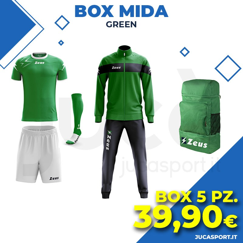 Zeus Box Mida - Green