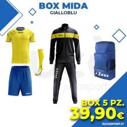 Zeus Box Mida - Gialloblu